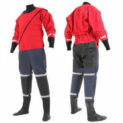 SF4 320D FE Red/Navy Heavyweight Surface Suit