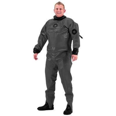 1000g Black Thor Drysuit